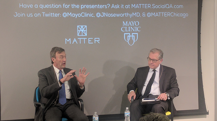 Mayo Clinic CEO Noseworthy Challenges Hospital CEOs